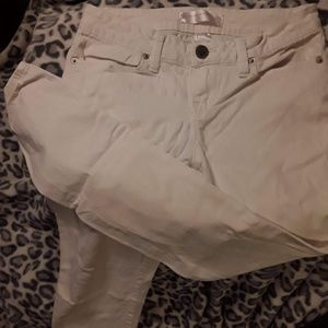 No Boundaries sz5 white skinny jeans